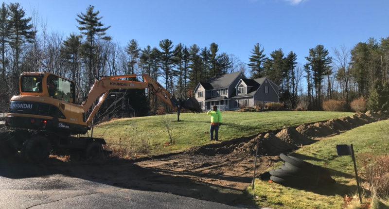 Drainage and Excavation Southern NH