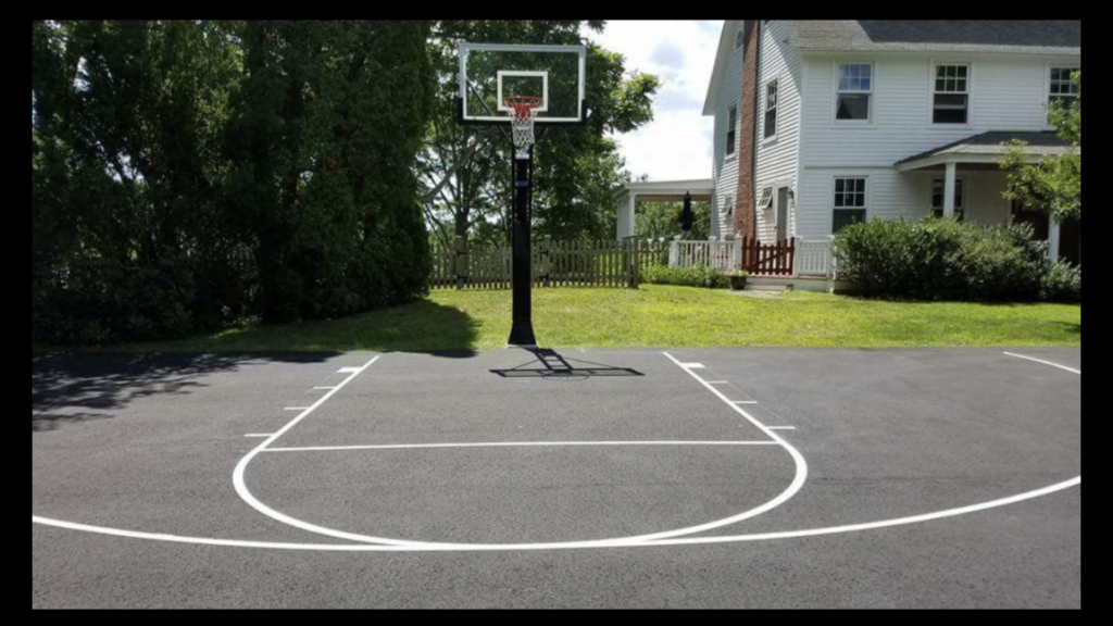 basketball court line striping NH